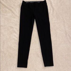Black Skinny Dress Pants